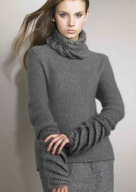 Жемчуг и спирали - свитер от Нина Риччи. Обсуждение на LiveInternet - Российский Сервис Онлайн-Дневников