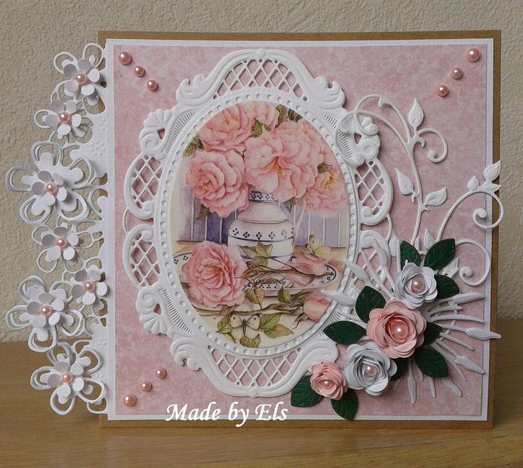 Mooi Bloemenkaartje