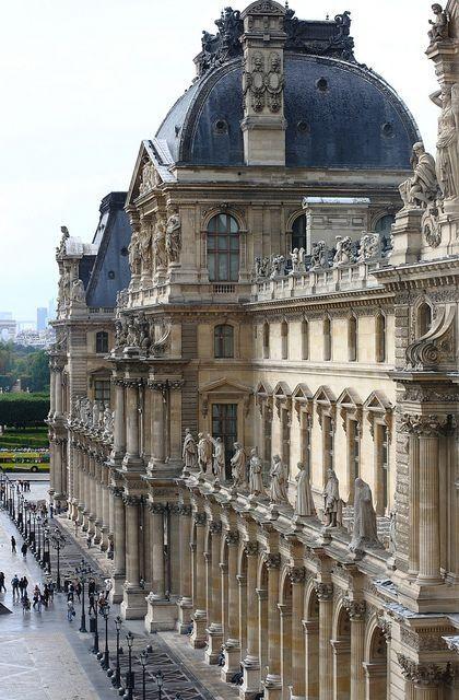 "lucreziatrevellyan: ""audreylovesparis: "" The Louvre "" http://lucreziatrevellyan.tumblr.com/ """