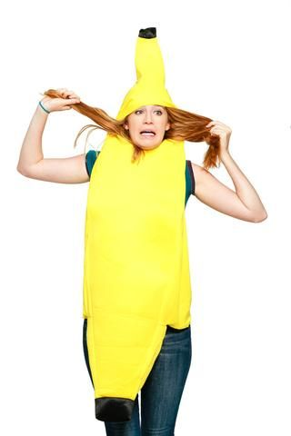 this sht is bananas womens banana costume easy halloween costumes at shinesty - Banana Costume Halloween
