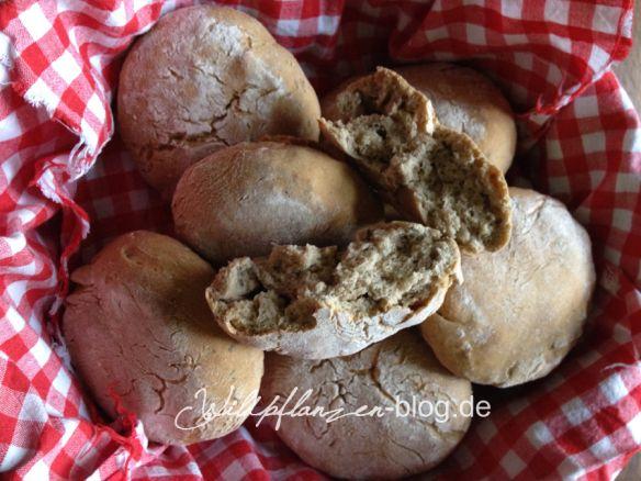 Vinschgerlen mit original Südtiroler Brotklee