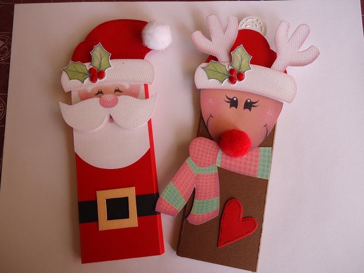 47 best images about chocolates decorados on pinterest amigos cars and un - Cd decorados de navidad ...