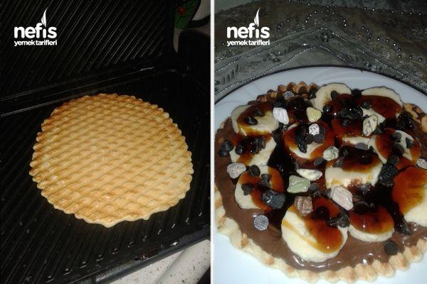 Tost Makinesinde Waffle Hamuru 2