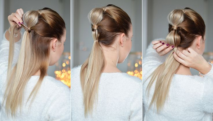 tutorial blake lively ponytail kampaus 4