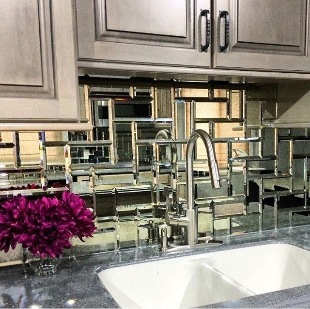 Best 25 Kitchen Mirrors Ideas On Pinterest Farmhouse Living Antique Mirror Tiles For Backsplash Kitchen Mirror Mirror Backsplash Kitchen Antique Mirror Tiles