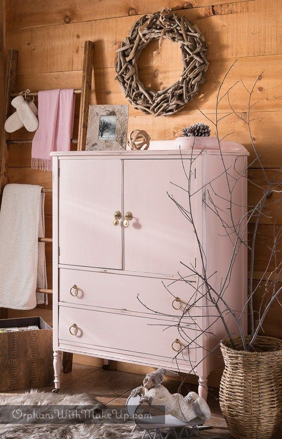 """I am always excited when I get a client request to do a """"pink"""" furniture makeover. It is one of my favorite colors. Pink is warm, comforting and soothing. It deserves to venture into…"""