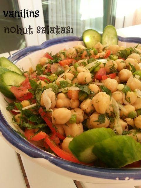 Nohut salatası | Vanilins