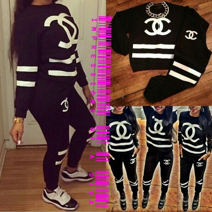fancy chanel jogging outfit 12