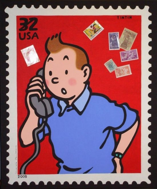 Tintin! These comics are just beyond good.