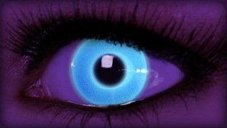 Rave Blue Contact Lenses on ExtremeSFX.com