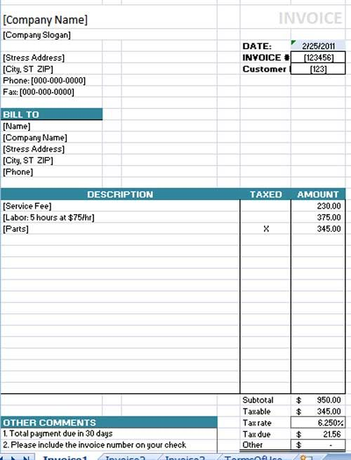 The 25 best ideas about Microsoft Word Invoice Template on – Invoice Template Microsoft Office