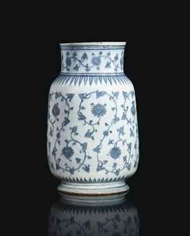 A rare Iznik pottery lantern jar, Ottoman, Turkey, circa 1540.