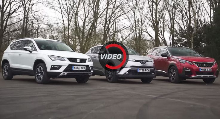 Peugeot 3008 vs Toyota C-HR vs Seat Ateca: Which Is The Best Compact SUV? #Peugeot #Peugeot_3008