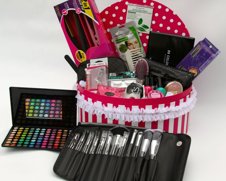 This Gift Basket Is Full Of Awesome Beauty And Makeup Items How Fun