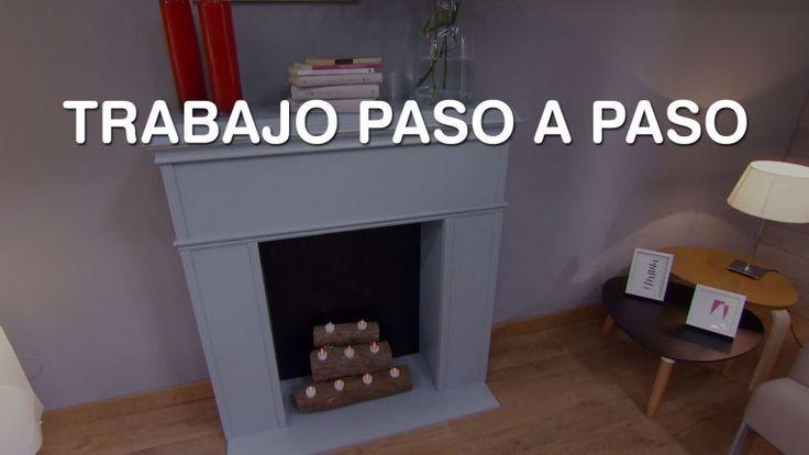M s de 25 ideas incre bles sobre como hacer una chimenea - Chimenea blanca decorativa ...
