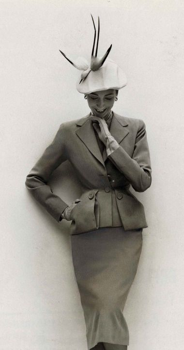 1951 British Vogue, Norman Parkinson, March