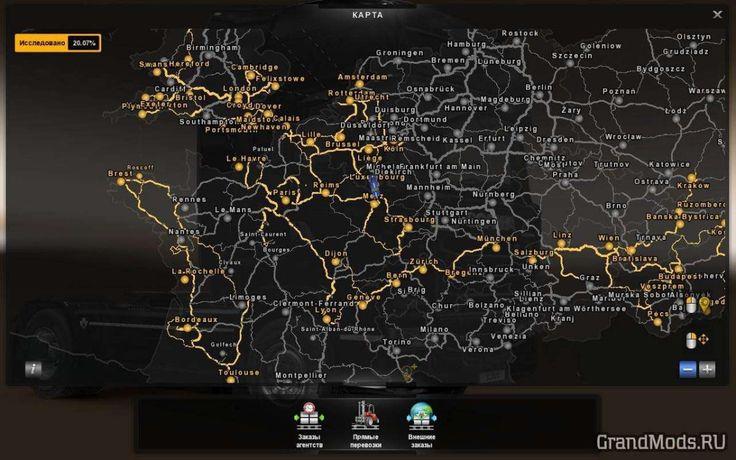 MHAPRO MAP EU V 1.27 [ETS2]