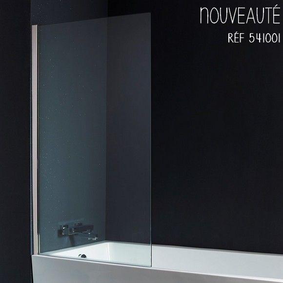Discret, imperméable et moderne, ce pare-baignoire vous offrira tout le confort nécessaire lorsque vous prenez une douche dans votre baignoire. #planetebain #baignoire #salledebain