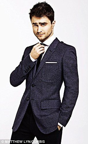 'I've been pretty lucky because I've never gone for the wrong type of girl,' said Daniel Radcliffe