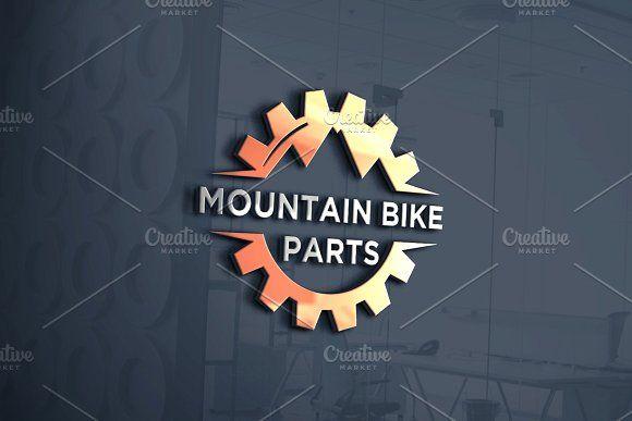 Mountain Bike Parts Logo Bike Logos Design Team Logo Design Bike Logo