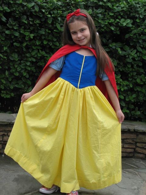Becca in Disney.  My mom made her Snow White costume.