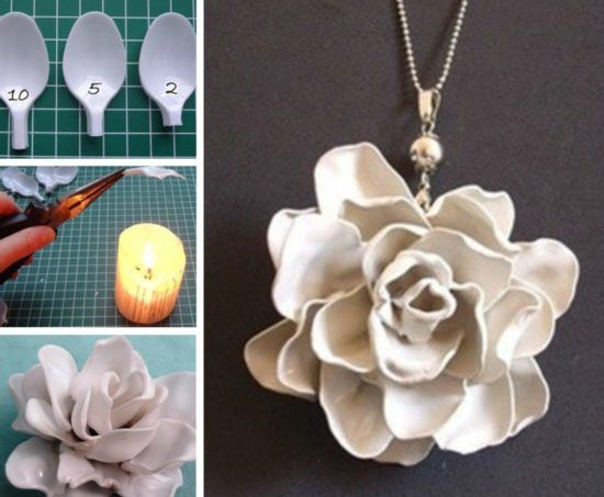 Plastic Spoon Flowers Video Is An Easy DIY To Try