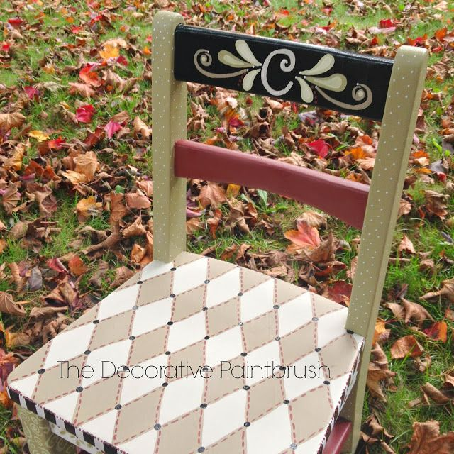 The Decorative Paintbrush, Designs By Mary Mollica: Chairs U0026 Bar Stools · Hand  Painted ...