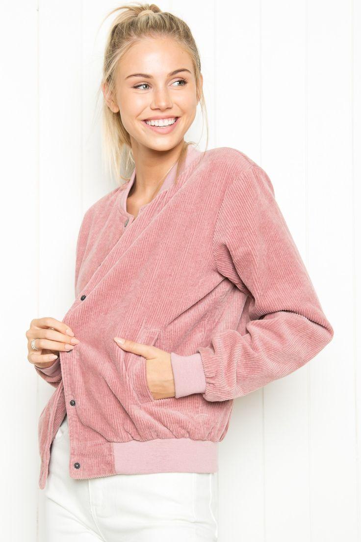 Brandy ♥ Melville | Dennis Corduroy Jacket - Jackets - Outerwear - Clothing