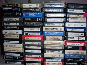 Eight track tapes!