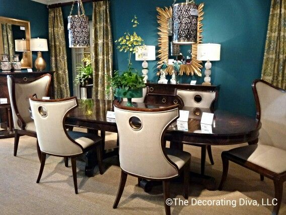 @Jonathan Nafarrete Charles Fine Furniture Dining room collection from Jonathan Charles sets the tone for an elegant and stylish dinner party. #hpmkt: Dining Rooms, Interior Design, Dining Room Furniture, Dinner Party, Room Design, Room Collection, Room Décor