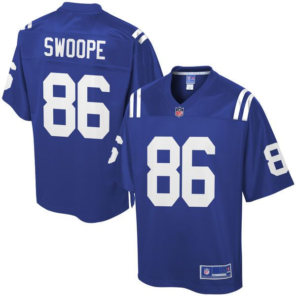 Erik Swoope Indianapolis Colts NFL Pro Line Player Jersey - Royal - $99.99