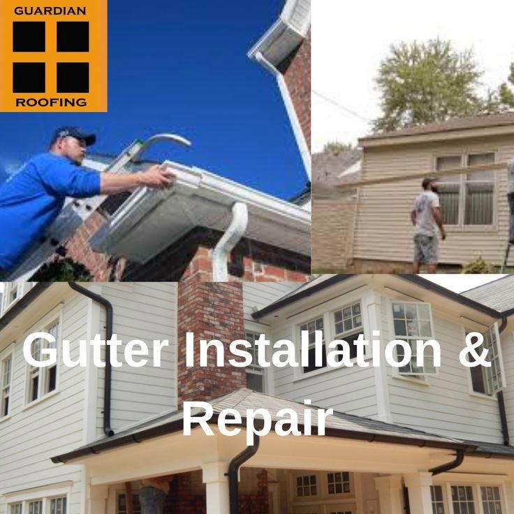 Have A Look At This Stylish Gutters Colors What An Artistic Type Gutterscolors In 2020 How To Install Gutters Roof Installation Gutter Repair