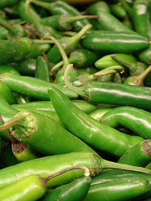 Serrano pepper = love various spicey peppers