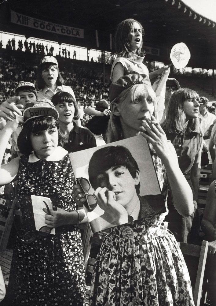 Una fan Paul McCartney. - (Giorgio Lotti, Mondadori Portfolio)