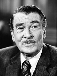 Walter Pidgeon - Excellent actor. B: September 23, 1897-D: September 25, 1984.