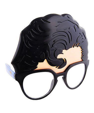 Look at this #zulilyfind! Superman Hair Sunglasses by Sun-Staches #zulilyfinds