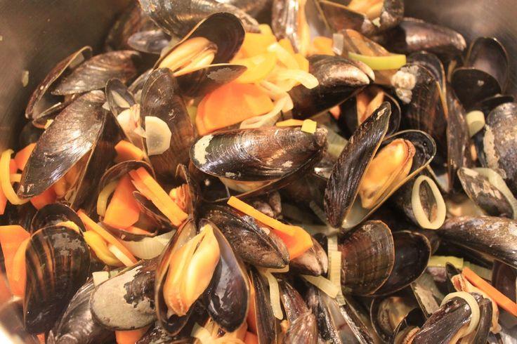 Die Kinderkueche: Muscheln…..Miesmuscheln in Weißweinsauce.... weniger Aufwand als ich dachte!
