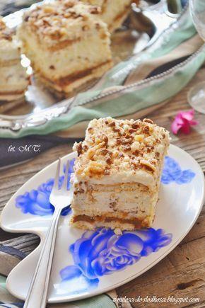 Z miłości do słodkości...: Ciasto Lion - bez pieczenia
