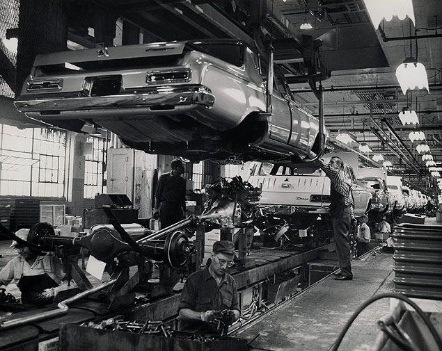 1963 Dodge Assembly Line