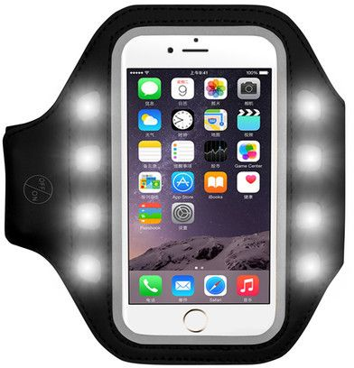 GABBA GOODS TECH ACCESSORIES LED Armband Phone Holder