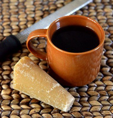 "Cafe de Olla (Mexican spiced coffee, sweetened with ""piloncillo"") 