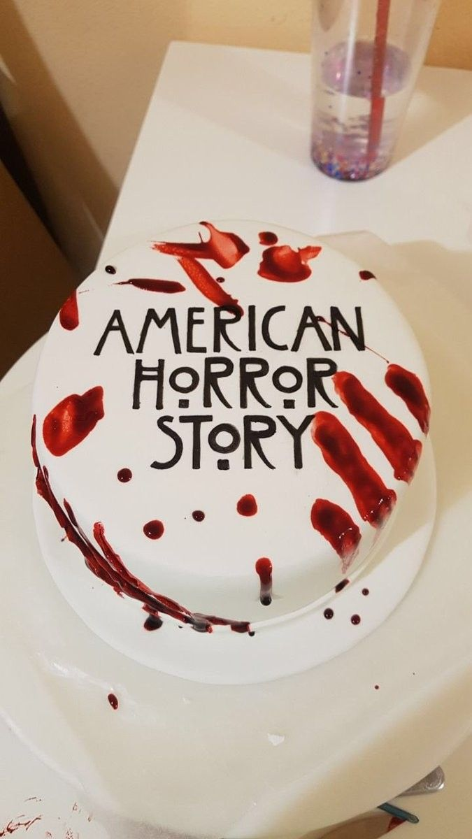 Ahs Cake With Images Amazing Cakes