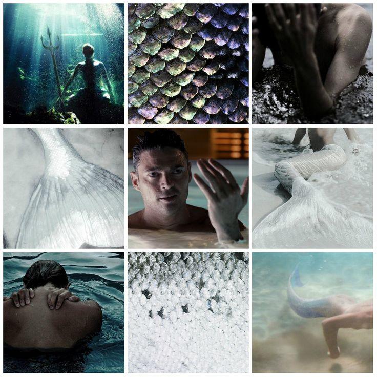 Mermaid AU: Leonard McCoy #viaGlamour