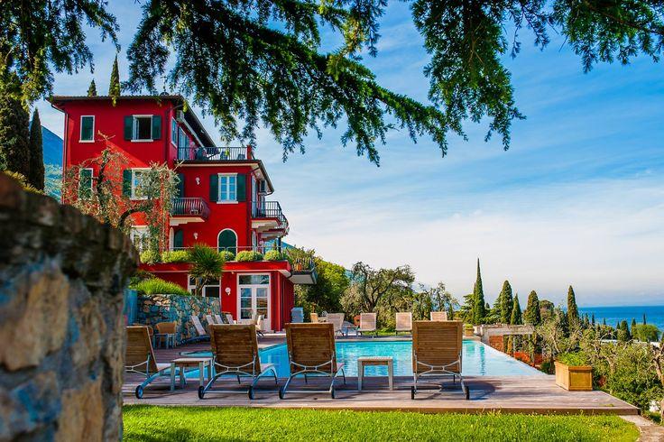 Gardasee Hotel Bellevue San Lorenzo Malcesine Hotel 4 sterne Gardasee Sommerurlaub See Verona (Veneto)