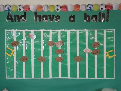 Incentives >> Sports themed Classroom and Alternate behavior incentive chart...using touchdown scores for ...