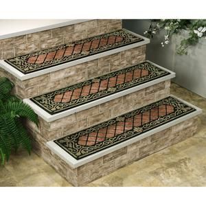 Decorative Outdoor Stair Treads | ... Buckingham Stair Treads Treads Accent  Your Stairs And