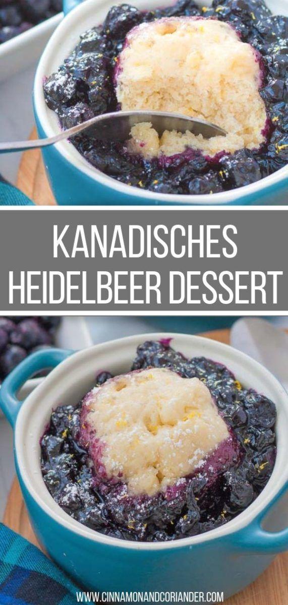 """Kanadischer Blaubeerdessert """"Blueberry Grunt""""   – Rezepte"""