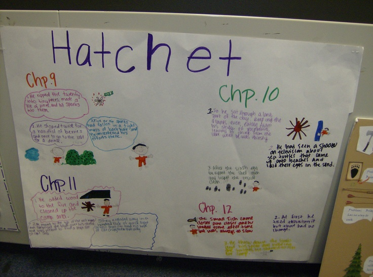 hatchet themes and characters Hatchet study guide contains a biography of gary paulsen, literature essays, quiz questions, major themes, characters, and a full summary and analysis.