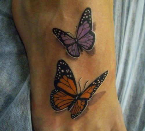 3d butterfly. Just add ribbons for cancer & ms