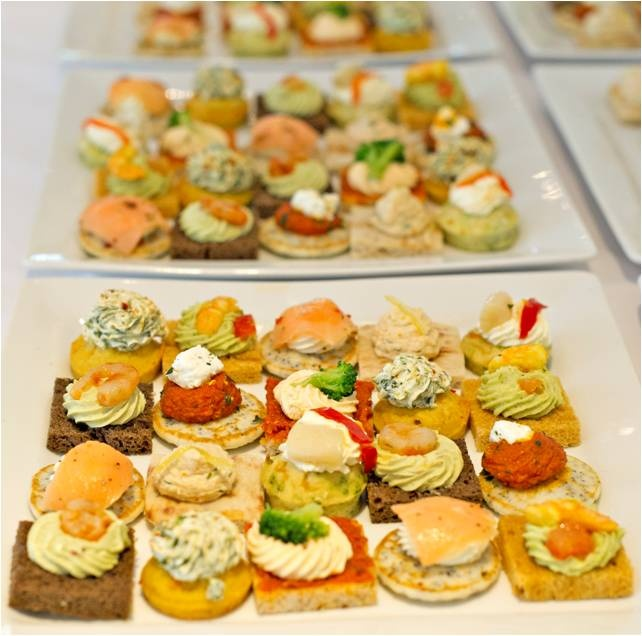 Canapes wedding breakfast ideas pinterest for Breakfast canape